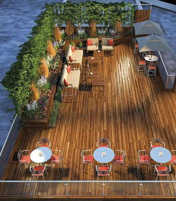Roof Deck Rendering