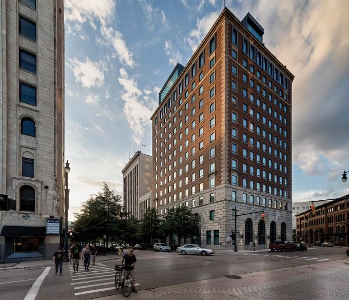 The Michigan Strategic Fund approved an 18-month deferment on loan payments for state incentives provided to RDV Corp. for The Morton redevelopment in downtown Grand Rapids. The investors cited struggles in leasing the building's retail space in requesting the deferment.