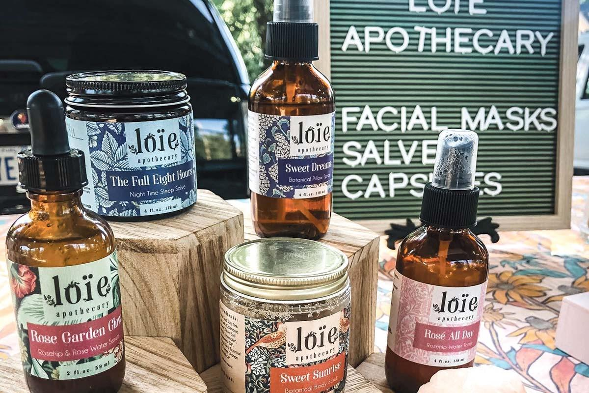 Skyelar Hoort launched Grand Rapids-based Loie Apothecary during pandemic-related downtime.