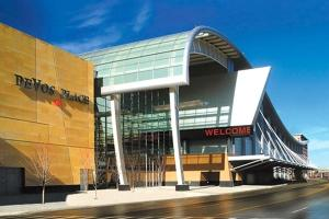 The Grand Rapids-Kent County Convention/Arena Authority is considering a plan to allow pop-up restaurants to operate in the Steelcase Ballroom to provide some use for the DeVos Place Convention Center.