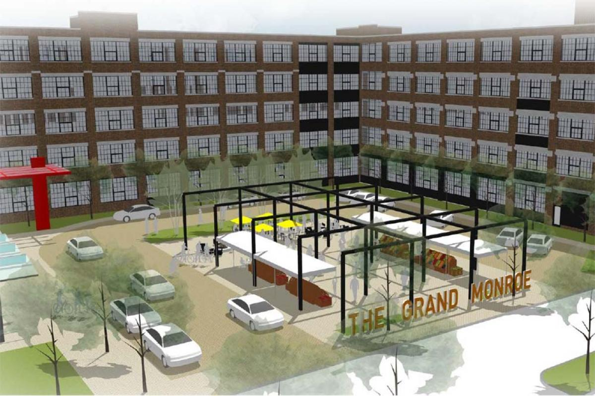 Developers seek tax credits to transform Grand Rapids industrial building