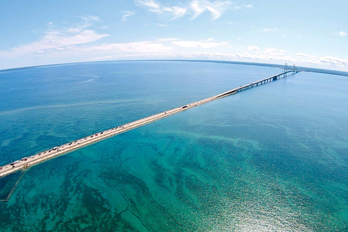 Gov. Gretchen Whitmer has notified Canadian pipeline company Enbridge Inc. that the state intends to revoke an easement that has allowed Line 5 to operate in the Straits of Mackinac for more than 65 years.