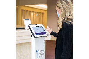 The development of Criterion Manufacturing Solutions' health screening kiosk was driven by the pandemic.