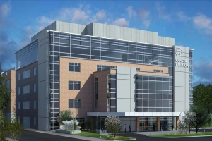 Bronson Healthcare plans to build a new five-story, 85,000-square-foot cancer pavilion at Vine Street and John Street in downtown Kalamazoo. Diekema Hamann Architecture & Engineering LLC designed the facility, and CSM Group Inc. will manage the construction process.