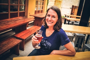 Kris Spaulding, co-owner of Brewery Vivant
