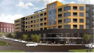 Rendering of 234 Market Ave. project