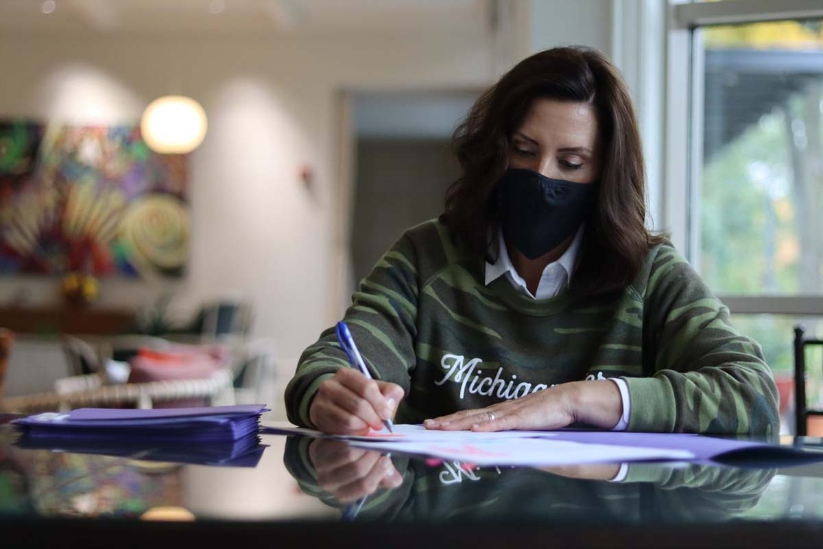 Whitmer signs surprise medical billing, employer liability bills into law