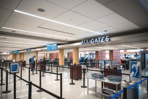 Gerald R. Ford International Airport might have to rethink how ticketing and TSA checkpoints are designed as part of an ongoing shift related to the coronavirus pandemic, according to President and CEO Tory Richardson.
