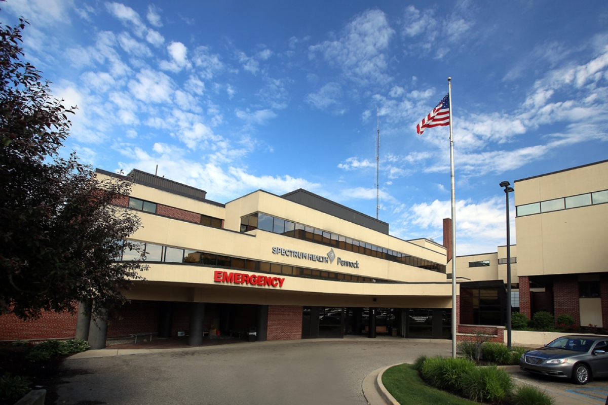 Pennock Hospital in Hastings was one of five Spectrum Health-owned hospitals that earned top grades in a semi-annual report on patient safety.
