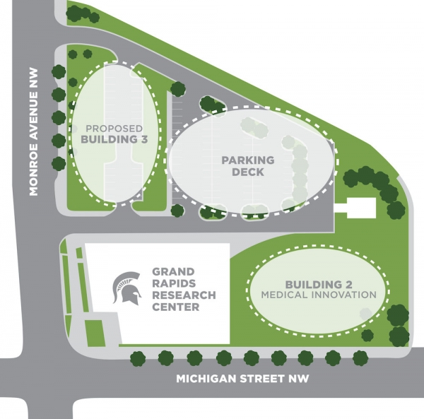 MSU trustees approve phase two expansion of Grand Rapids Research Center