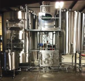 Greenville-based Psycho Brew sells a line of small brewing systems popular with small neighborhood breweries.